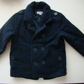 Пальто на мальчика 3 4 лет