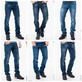 Джинсы мужские много разных моделей на любой вкус и размер