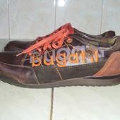 bugatti (дл.ст. 28,5 см р.44) кожаные кроссовки