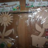 деревянная игрушка набор для творчества цветок тюльпан