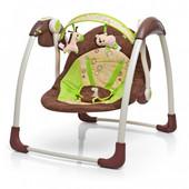 Качели Бемби 6568 Bambi детская музыкальная качель колыбель напольная