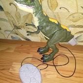 Интерактивный динозавр Мегазавр на управлении ходит рычит Dragon-i Toys