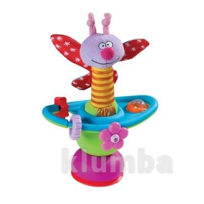 Игрушка на присоске - цветочная карусель фото №1