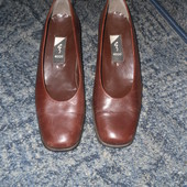 дешево туфли ecco р 36.5-37 стелька около 24см