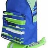Новые  самокат Zing  для детей от 3-х лет с рюкзаком