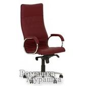 Офисное кресло для руководителя Allegro steel chrome LE [кожа Lux]
