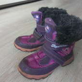 Термо ботиночки на девочку зима 30 размер