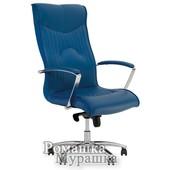 Офисное кресло для руководителя Felicia steel chrome Eсо [искусственная кожа Eсо]