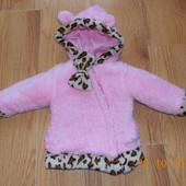 Акция!Гламурная фирменная куртка для девочки 12 месяцев, 80 см