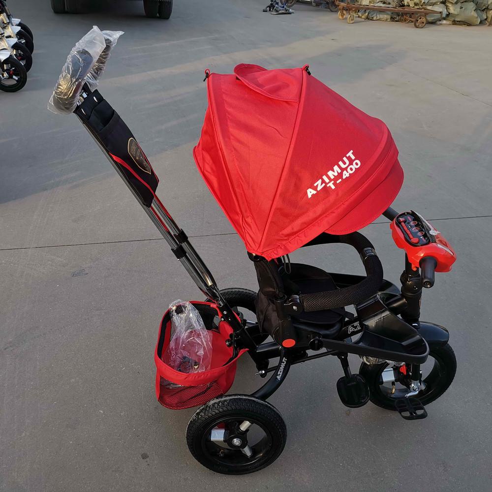 Azimut t400 usb велосипед трехколесный детский с ручкой азимут фото №1