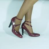 Туфлі шкіряні Aketohn (ніжка 24.5-25см) Італія..Нові