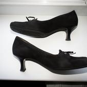 Туфли Gabor 36,5-37р натур.Замша