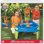 Стол-песочница с мельницей от American Plastic Toys