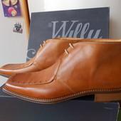Willy Adams Кожаные Прошитиє Итальянские Ботинки