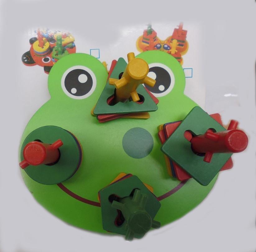 Деревянная логика жабка 2011-91 фото №1