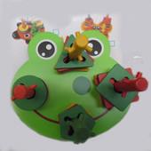 Деревянная логика жабка 2011-91
