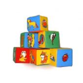 """Кубики мягкие Животные 6 Артикул: Торговая марка: """"Розумна iграшка шт 029"""