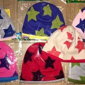 Детские модные трикотажные шапочки