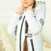 """Детская куртка с шапочкой """"Бони"""" р-ры 122-140"""
