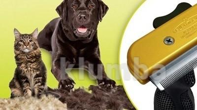 Фурминатор расческа для кошек и собак 4,5см, 6,8см, 10см фото №1
