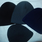 Новые мужские шапки зима,4 цвета,р-р универсальный 54-59,на флисе