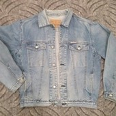 Джинсовый мужской пиджак Redstar размер L. Смотрите описание. Укрпочта +15грн.