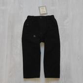 Новые теплые штаники на мальчика от Marcel et Leon, размер 18 месяцев. Внутри на котоновой подкладке