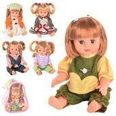 Кукла Оксаночка в рюкзаке,6 видов