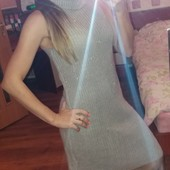 Платье вязаное, теплое р. S, Promod