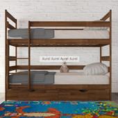 Двухъярусная кровать - трансформер Ясная Аурель