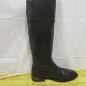 Продам кожаные сапоги Zara, 41 размер, стелька 27 см.