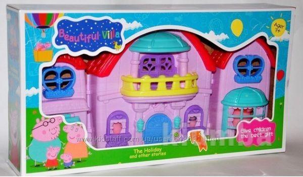 Загородный дом Свинки Пеппы, с фигурками семьи Пеппы