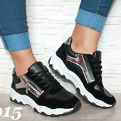 Крутые женские кроссовки на белой подошве