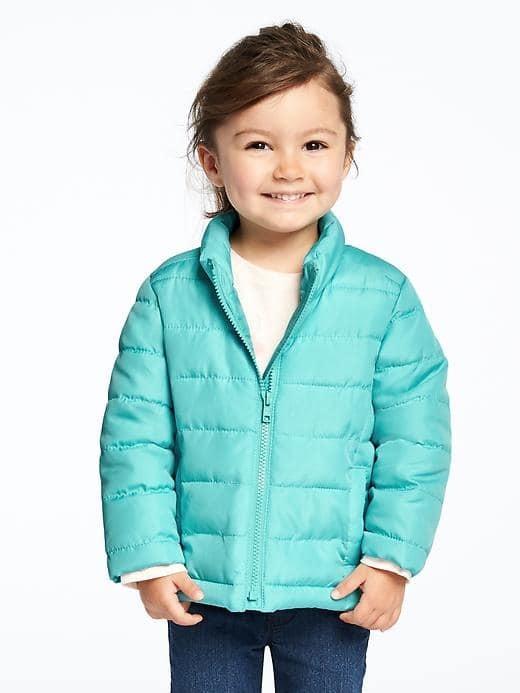 Детская куртка демисезонная голубая old navy на девочку 12-18,18-24мес в наличии из америки фото №1