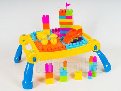 Развивающий игровой столик конструктор фото №1