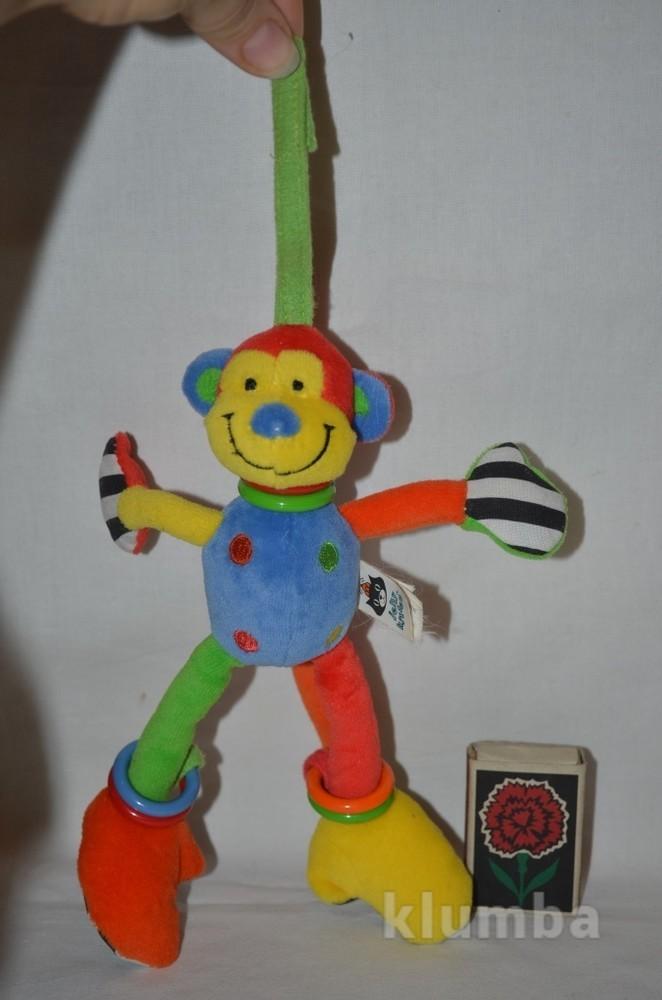 Обалденная подвеска погремушка колокольчик обезьянка фото №1