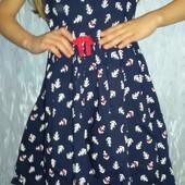 Очень красивое платье Нм 6-8 лет. Хлопок. Состояние Отличное.