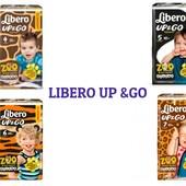 Акция! Трусики Libero Up&Go 4, 5, 6!