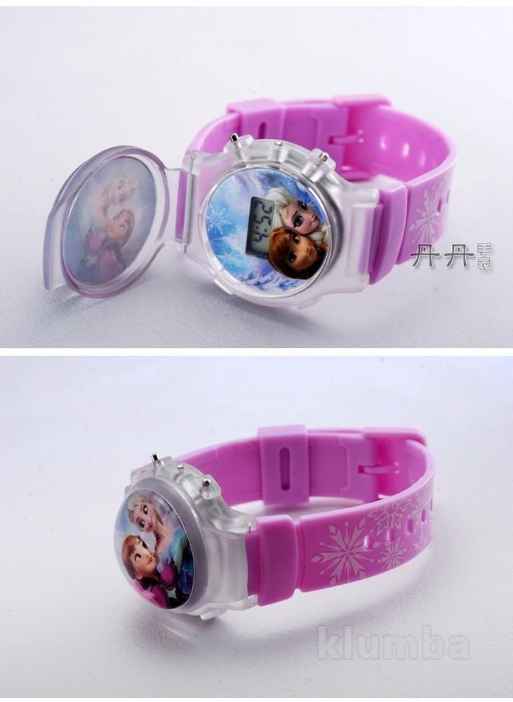 Детские часы с Эльзой, Анной (Холодное сердце) фото №1