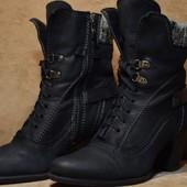 Marco Tozzi ботинки, полусапоги, сапоги. Германия. Оригинал. 38 р.