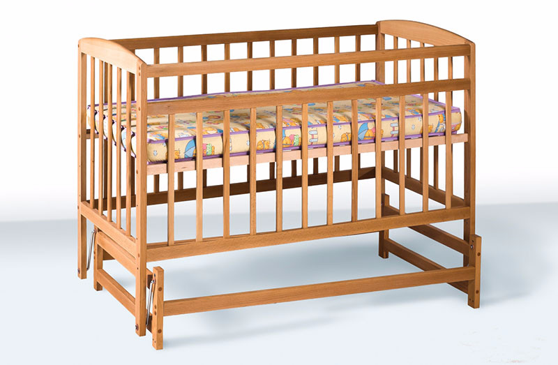 Кроватка детская labona мрия №3 на шарнирах фото №1