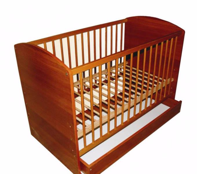 Кроватка детская Labona Малюк №1 с ящиком фото №1