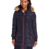 Зимняя женская куртка levi's женская курточка  L черная. пролет с размером