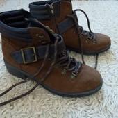 Стильные ботинки,сапоги, демисезон, утепленные
