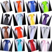 Мега стильные и модные однотонные атласные галстучки для стильных и ярких детей!