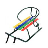Детские санки Vitan Малыш (крашенные планки) Зеленый лак 7250