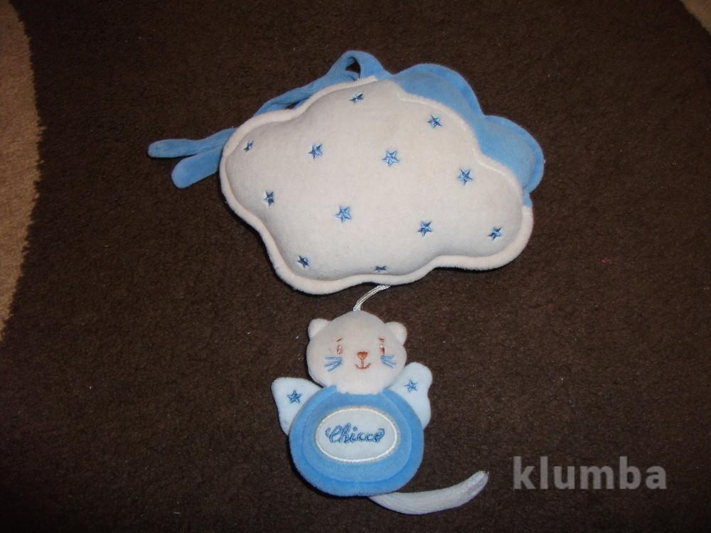 Подвеска на коляску chicco-мишка на облаке фото №1
