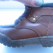 Крутые стильные ботинки полн.кожа Р. 20