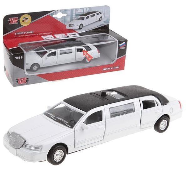 Акция!автомодель-лимузин (белый, свет, звук) в нетоварной упаковке фото №1