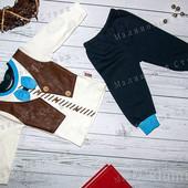 Костюм 74 р. для мальчика, 9 месяцев, кофта штаны, Турция, супер качество, костюмчик